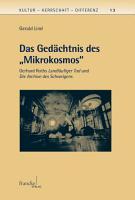 Das Ged  chtnis des  Mikrokosmos  PDF