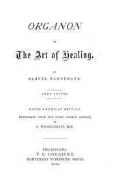 Organon of the Art of Healing