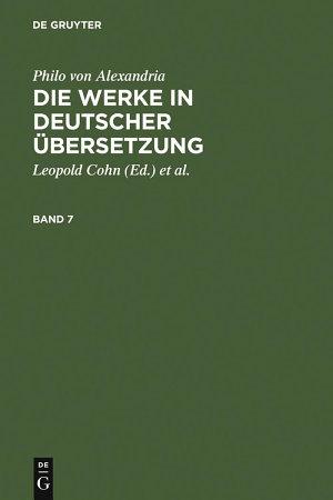 Die Werke in deutscher   bersetzung  Band 7 PDF