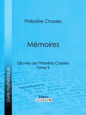 Mémoires: Volume2