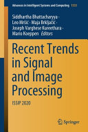 Recent Trends in Signal and Image Processing