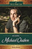 Reading Michael Chabon PDF