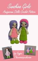 Sunshine Girls Amigurumi Dolls Crochet Pattern PDF