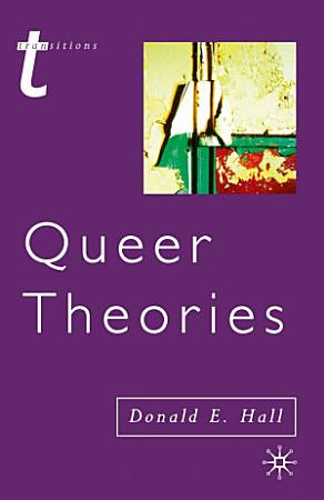 Queer Theories PDF