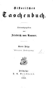 Historisches Taschenbuch, herausg. von F. von Raumer