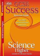 GCSE Core Science Higher