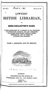 British Librarian  Or  Book collector s Guide     PDF