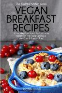 Vegan Breakfast Recipes PDF