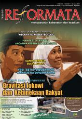 Tabloid Reformata Edisi 176 Juni 2014