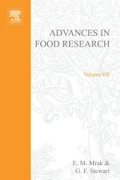 Advances in Food Research: Volume 7