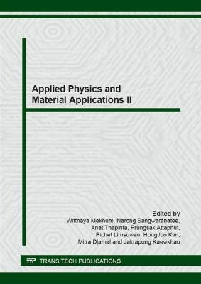 Applied Physics and Material Applications II