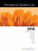 Principles of Taxation Law 2018 PDF