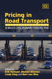 Pricing in Road Transport: A Multi-disciplinary Perspective