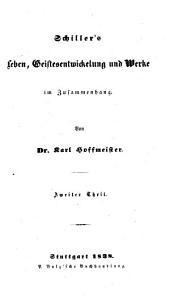 Schiller's Leben, Geistesentwickelung und Werke