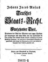 Teutsches Staats-Recht: Band 17