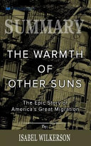 Summary: the Warmth of Other Suns Book