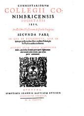 Commentarii In octo libros Physicorum: Volume 2
