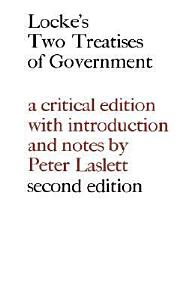 Locke  Two Treatises of Government Book
