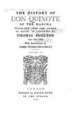The History of Don Quixote of the Mancha: Volume 15