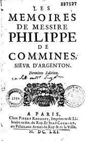 Mémoires sur les principaux faicts de Louis XI et de Charles VIII
