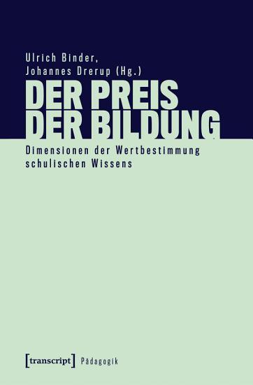 Der Preis der Bildung PDF