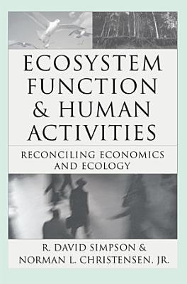 Ecosystem Function   Human Activities