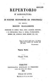 Repertorio di agricoltura pratica e di economia domestica