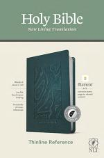 NLT Thinline Reference Bible, Filament Enabled Edition (Red Letter, Leatherlike, Teal Blue, Indexed)