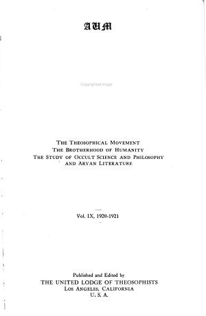 Theosophy PDF