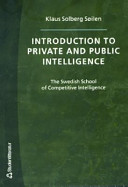 Introduction to Private and Public Intelligence