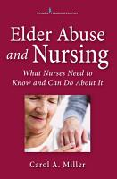 Elder Abuse and Nursing PDF