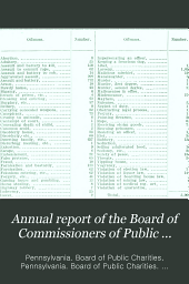 Annual Report of the Board of Commissioners of Public Charities: Volume 41