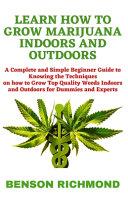 Learn How to Grow Marijuana Indoors and Outdoors PDF