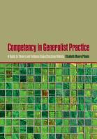 Competency in Generalist Practice PDF