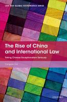 The Rise of China and International Law PDF