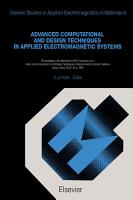 Advanced Computational and Design Techniques in Applied Electromagnetic Systems PDF