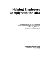 Helping Employers Comply with the ADA PDF