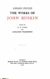 The works of John Ruskin: Volume 34