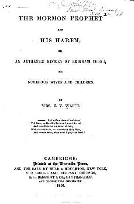 The Mormon Prophet and His Harem PDF