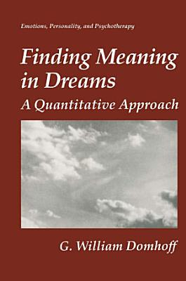 Finding Meaning in Dreams PDF