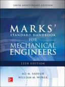 Marks  Standard Handbook for Mechanical Engineers  12th Edition PDF
