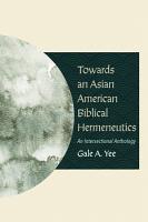 Towards an Asian American Biblical Hermeneutics PDF