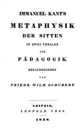 Immanuel Kant's sämmtliche Werke: Band 9