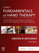 Cooper s Fundamentals of Hand Therapy