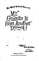 My Weird School Daze  3  Mr  Granite Is from Another Planet  PDF
