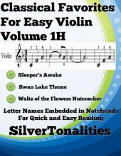 Classical Favorites for Easy Violin Volume 1 H