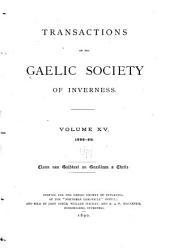Transactions: Volume 15