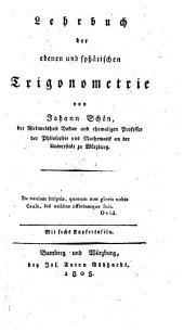 Lehrbuch der ebenen und sphärischen Trigonometrie