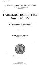 Farmers' Bulletin: Issues 1226-1250