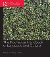 The Routledge Handbook of Language and Culture PDF